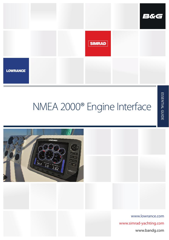 NMEA 2000® Engine Interface Essential Guide | manualzz com