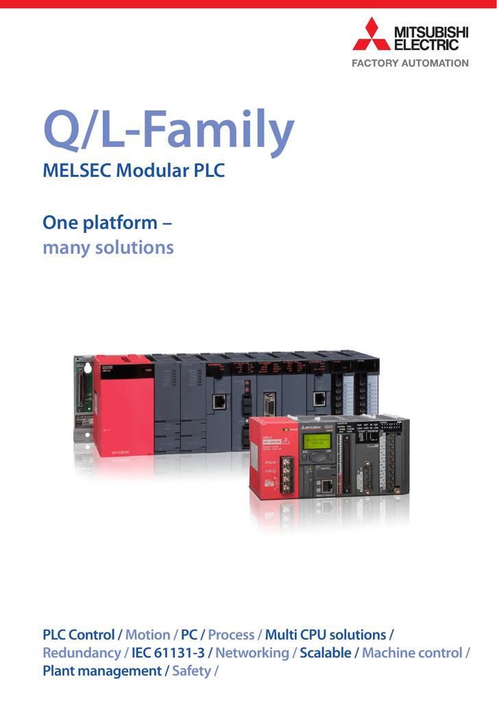 MITSUBISHI Electric MELSEC Electric Contact Output Unit QY10