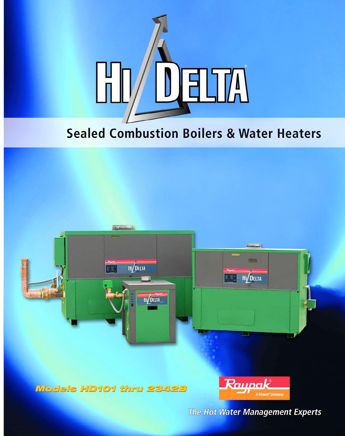 Raypak Hi Delta brochure   manualzz.com