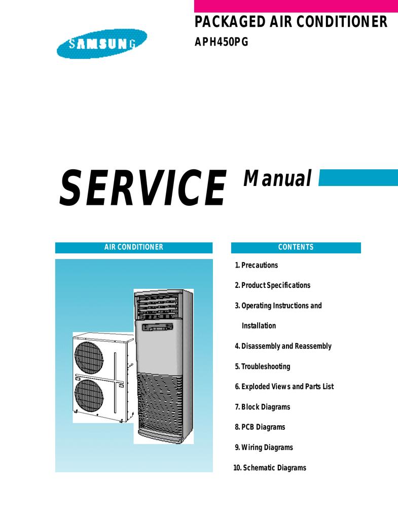 Samsung APH450PG Service manual   manualzz.com