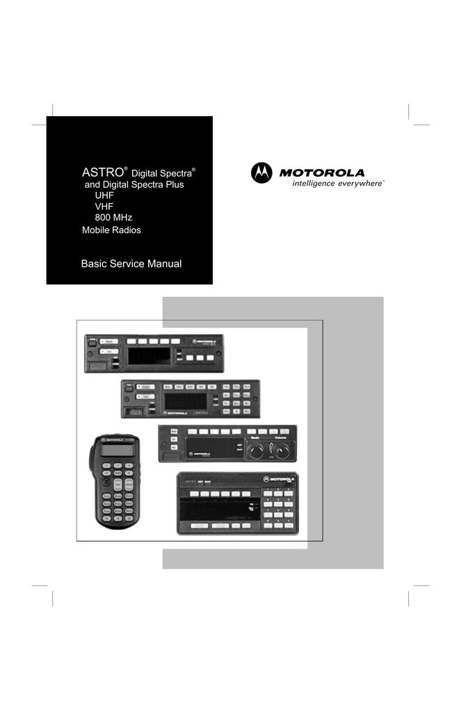 Motorola Astro Spectra UHF 128 Modes 40 Watt Model Number D04RKF9PW5AN for sale online