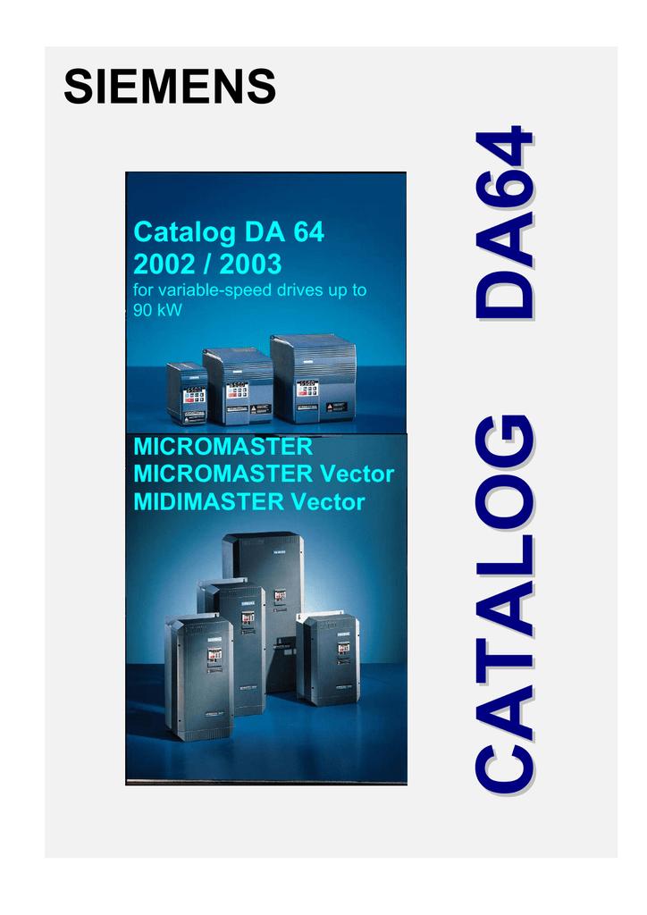 Siemens EK 726 Series Technical data   manualzz.com