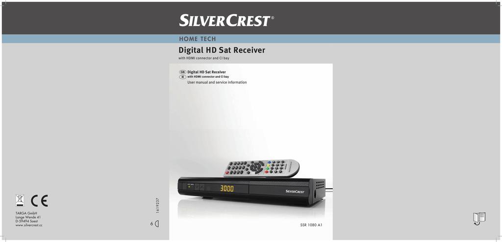 Silvercrest SE 32 A1 User manual | manualzz com