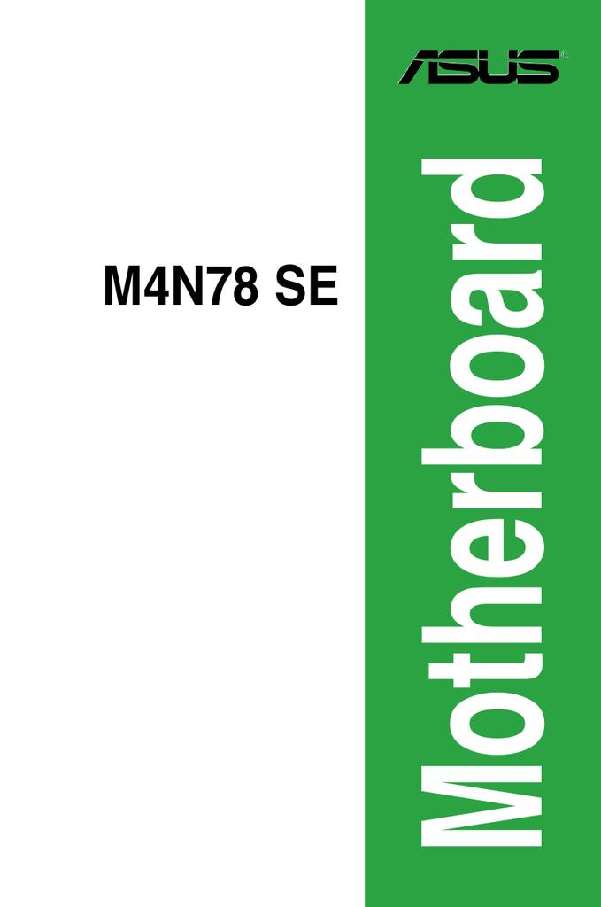 ASUS M4N78 SE REALTEK AUDIO DRIVERS FOR WINDOWS MAC