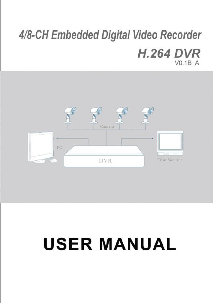 DVR 8-CH User manual   manualzz com