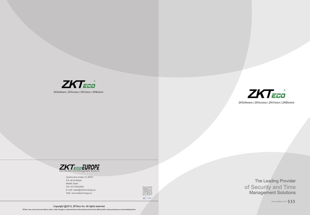 ZKT ZKSD3 Series Specifications | manualzz com