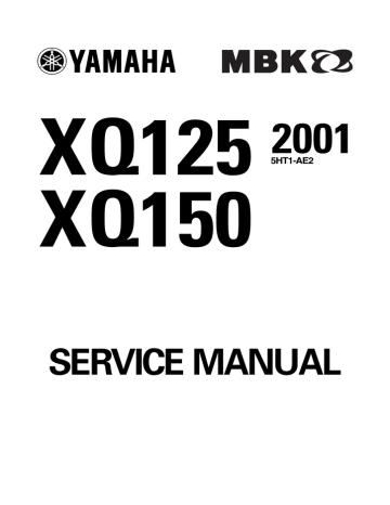 Yamaha Xq150 Service Manual Manualzz