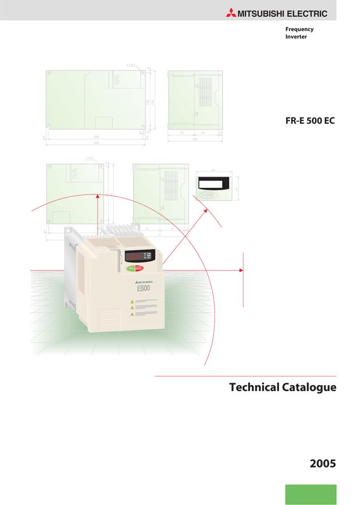 mitsubishi vfd manual e500