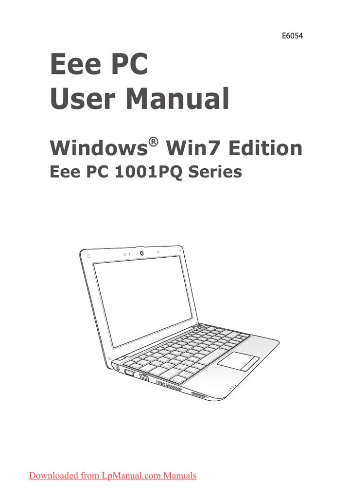 Asus Eee PC 1008P NE762H WLAN Driver Windows XP