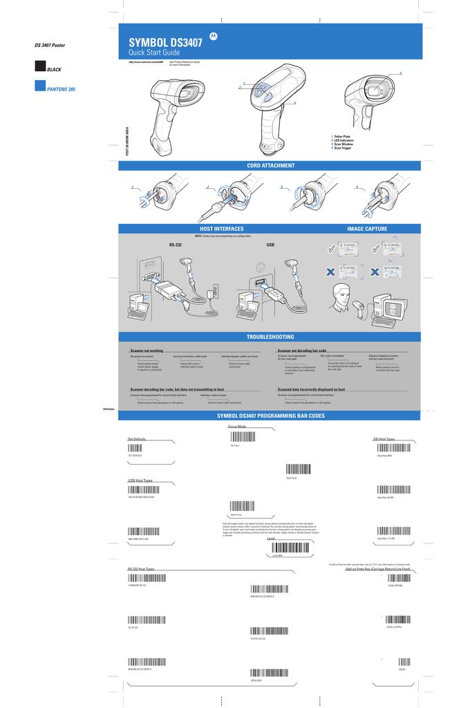 Symbol Programming Sheet