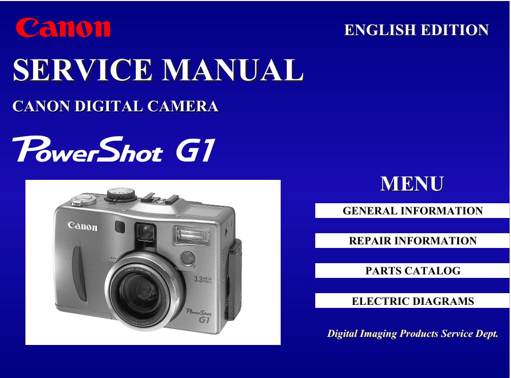 canon c83 1004 powershot g1 digital camera service manual rh manualzz com