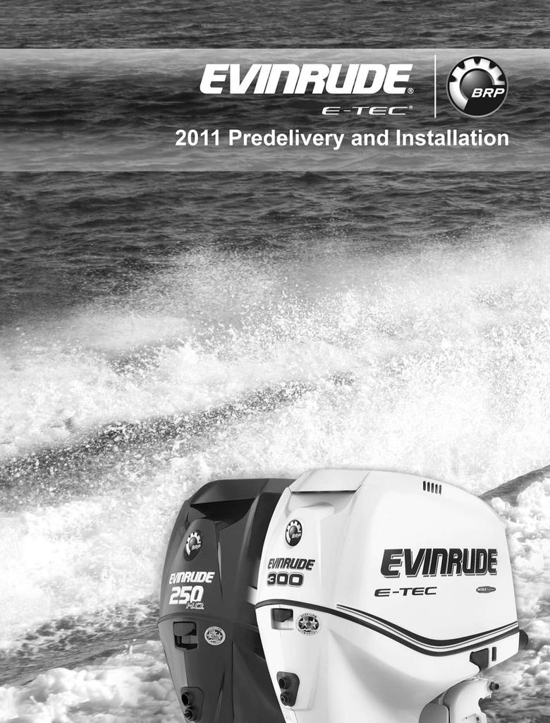 BRP Evinrude Specifications | manualzz com