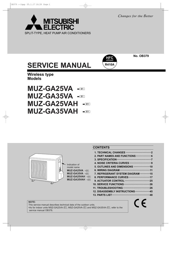 Disassembly instructions 10 | mitsubishi electric mitsubishi split.