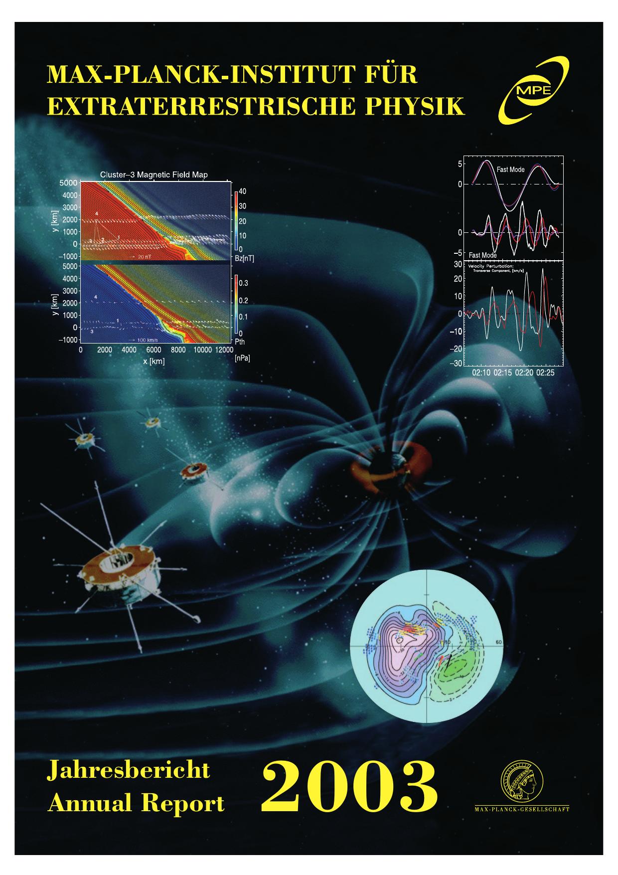 Jahresbericht 2003 Max Planck Institut für