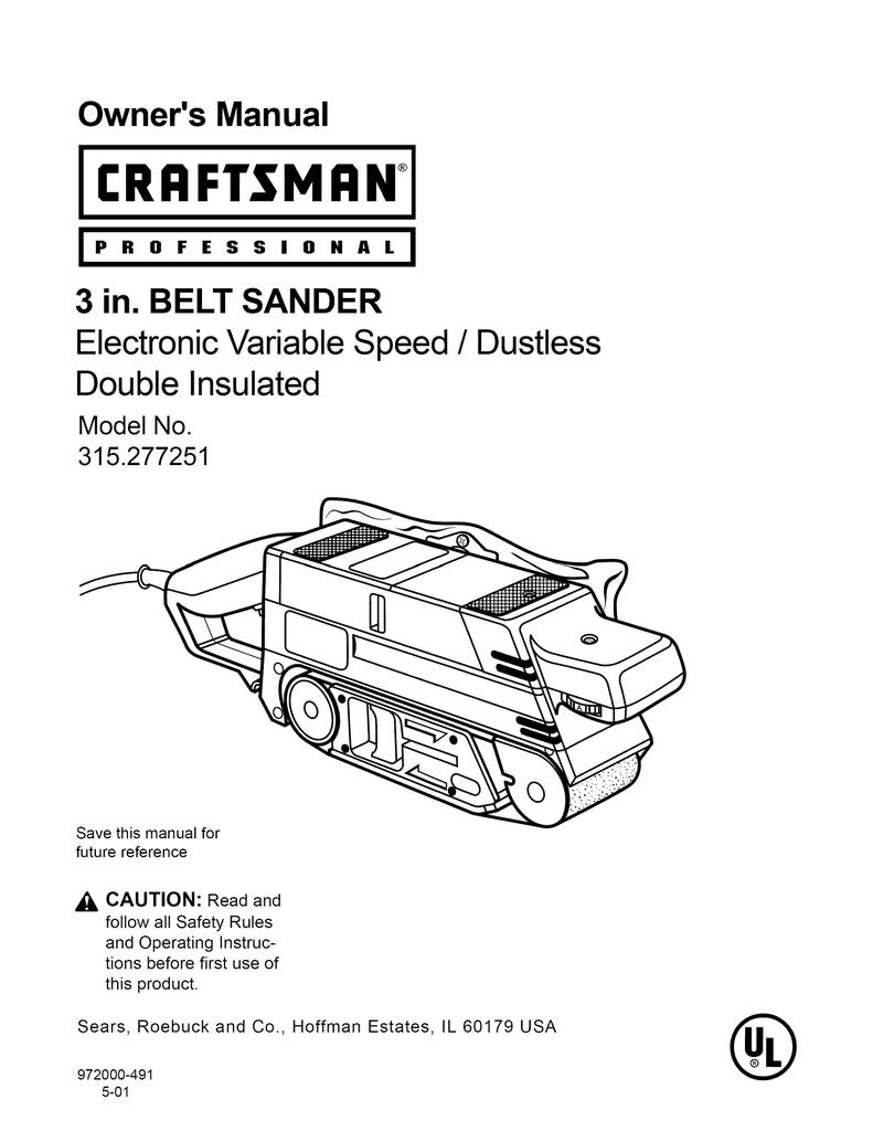 Belt Sanders Tools & Home Improvement 2 New Replacement Motor ...