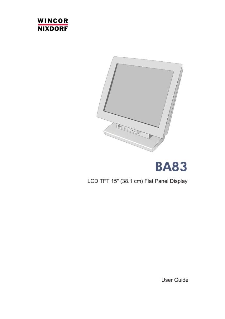Touchscreen Wincor Nixdorf BA 83 USB Professionell