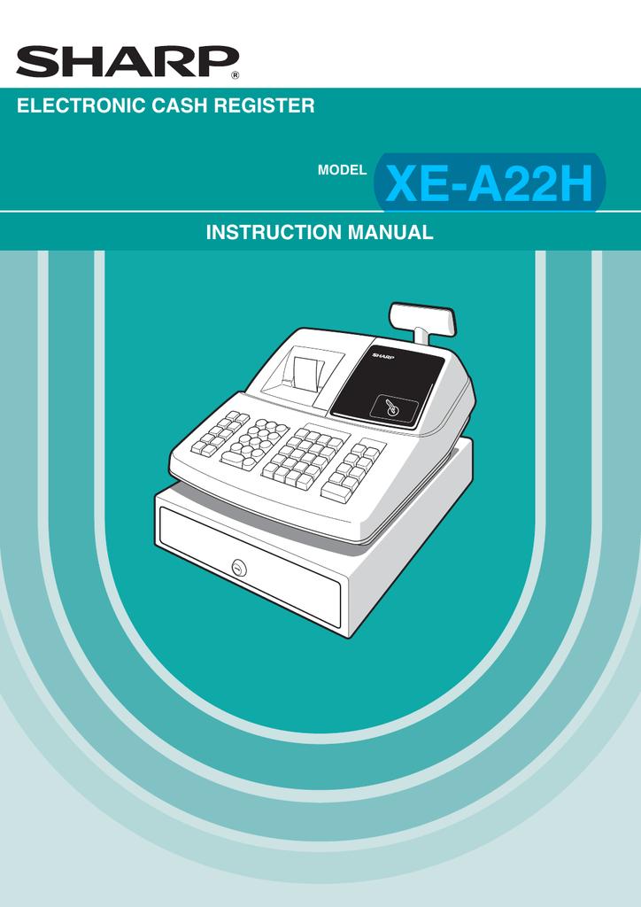 sharp xe a22h instruction manual manualzz com rh manualzz com