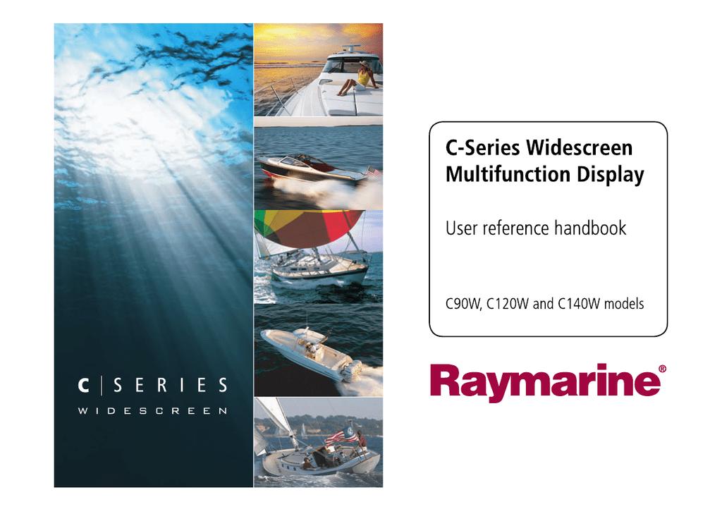 Raymarine C140w Specifications | manualzz com