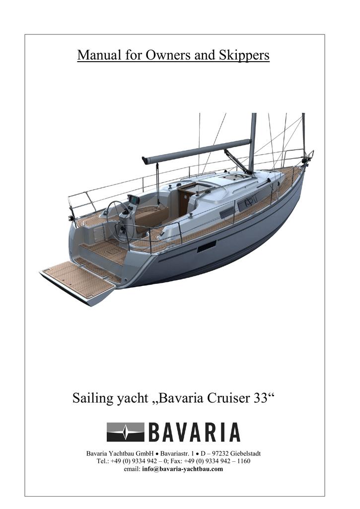 bavaria cruiser 33 owner s manual manualzz com rh manualzz com bavaria 42 vision owner's manual bavaria 42 vision owner's manual