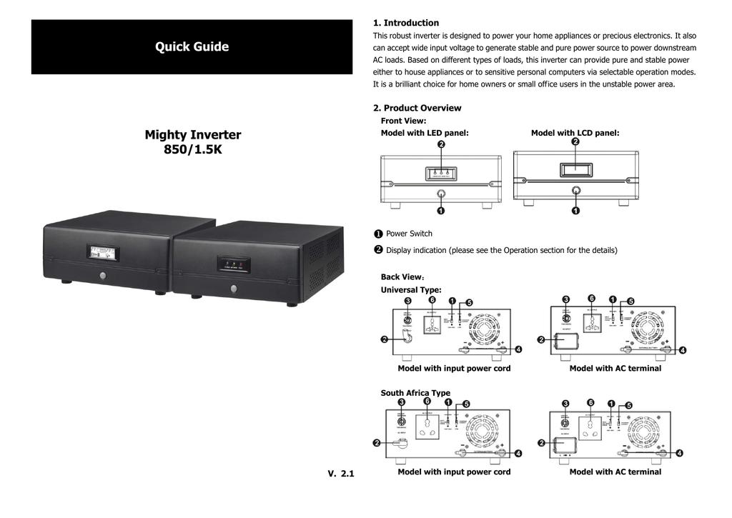 Voltronic Power 1K Specifications   manualzz com