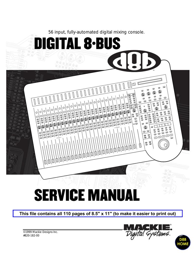 Mackie 56 Input Service Manual Wiring Diagram For 3 Speed Fan Motor Fx2 75x