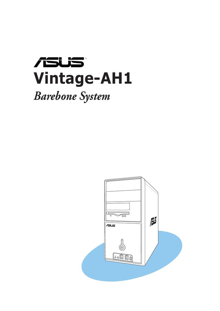 Asus VINTAGE-AH1 Specifications
