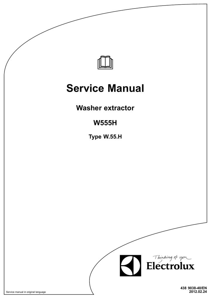 electrolux w555h service manual manualzz com rh manualzz com electrolux w555h parts manual electrolux w555h parts manual