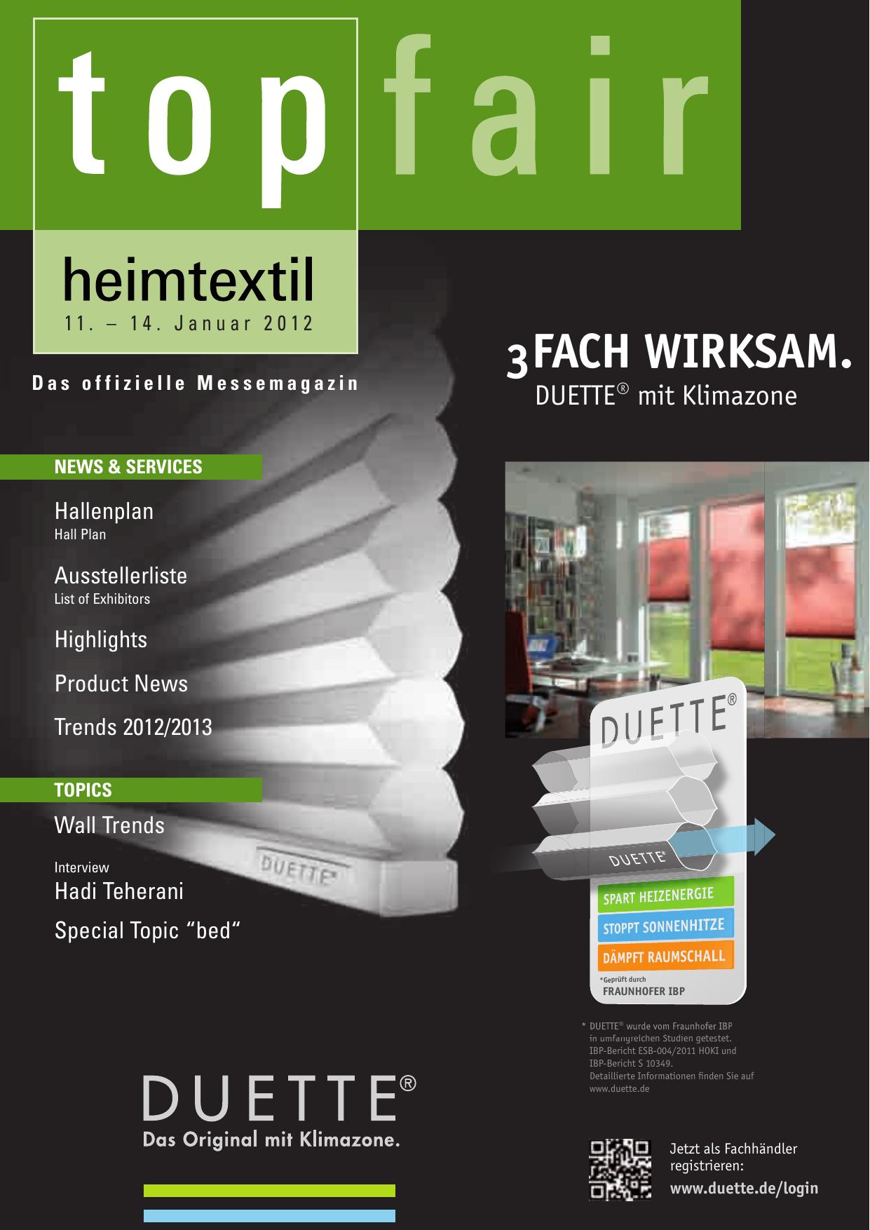 Heimtextil 2012 Manualzz Com