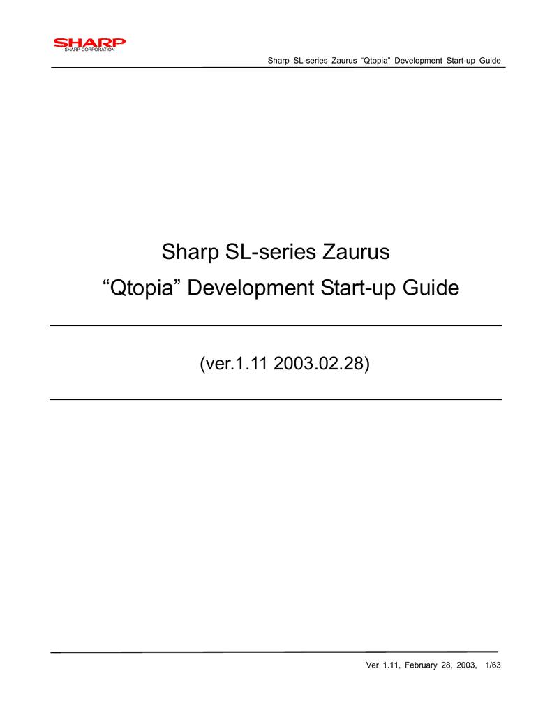 Sharp Qtopia Desktop Specifications | manualzz com