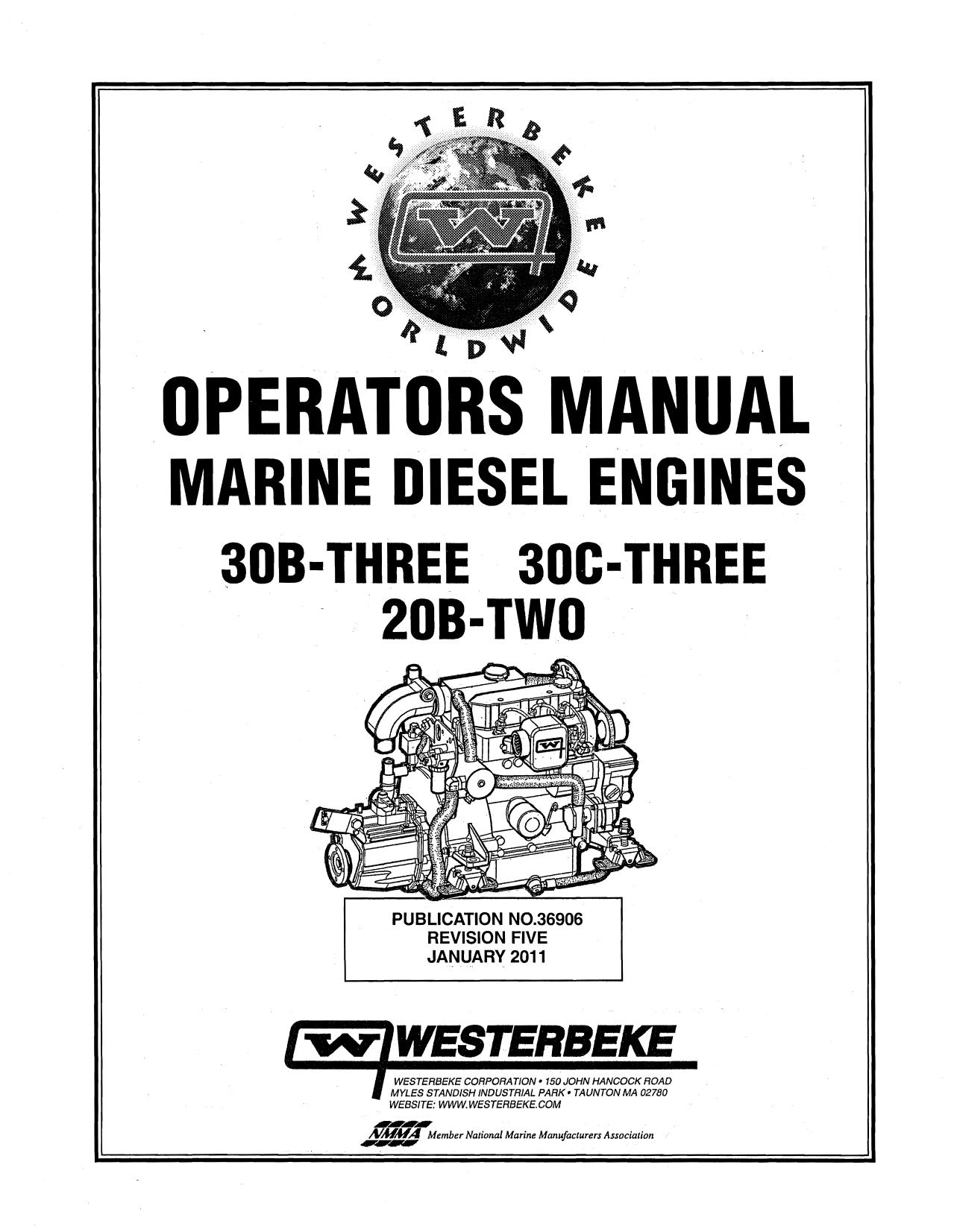 Westerbeke 20B TWO Installation manual | manualzz.com on