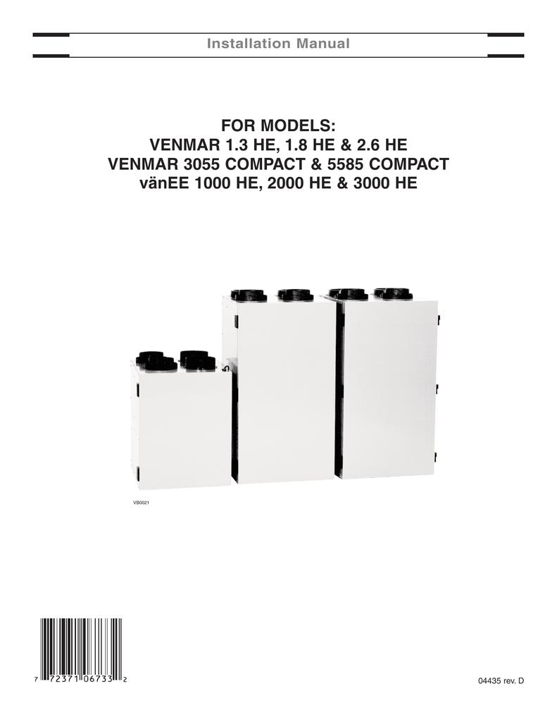 Venmar Hr 26 Installation Manual Electric Baseboard Wiring Diagrams 120 6feet
