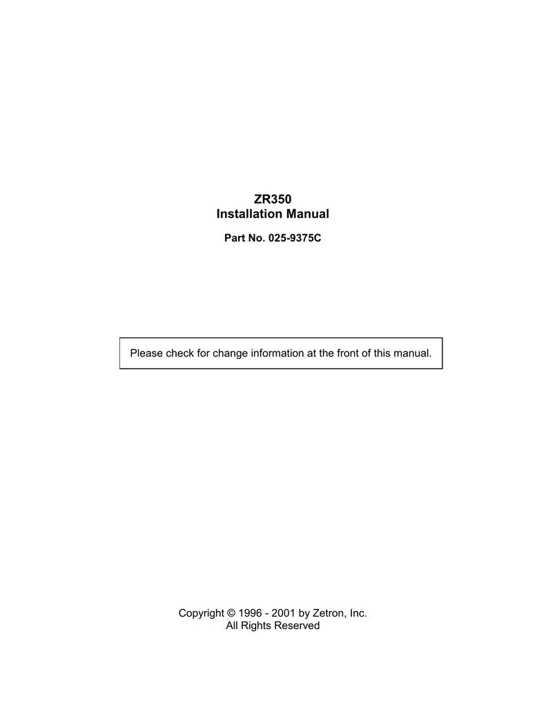 Motorola GM950 Installation manual | manualzz com