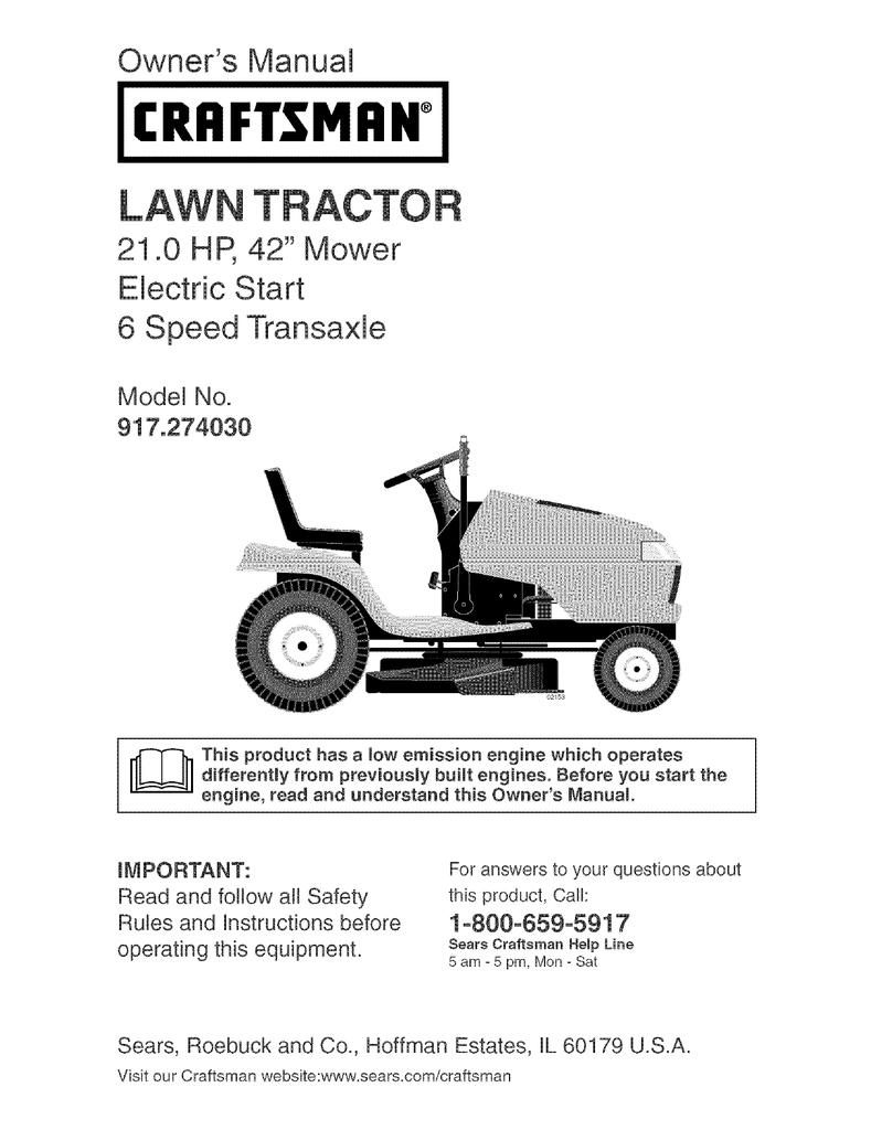 Craftsman Lawn Mower Part # 180533 BRKT.ROLLER.NOSE.RH