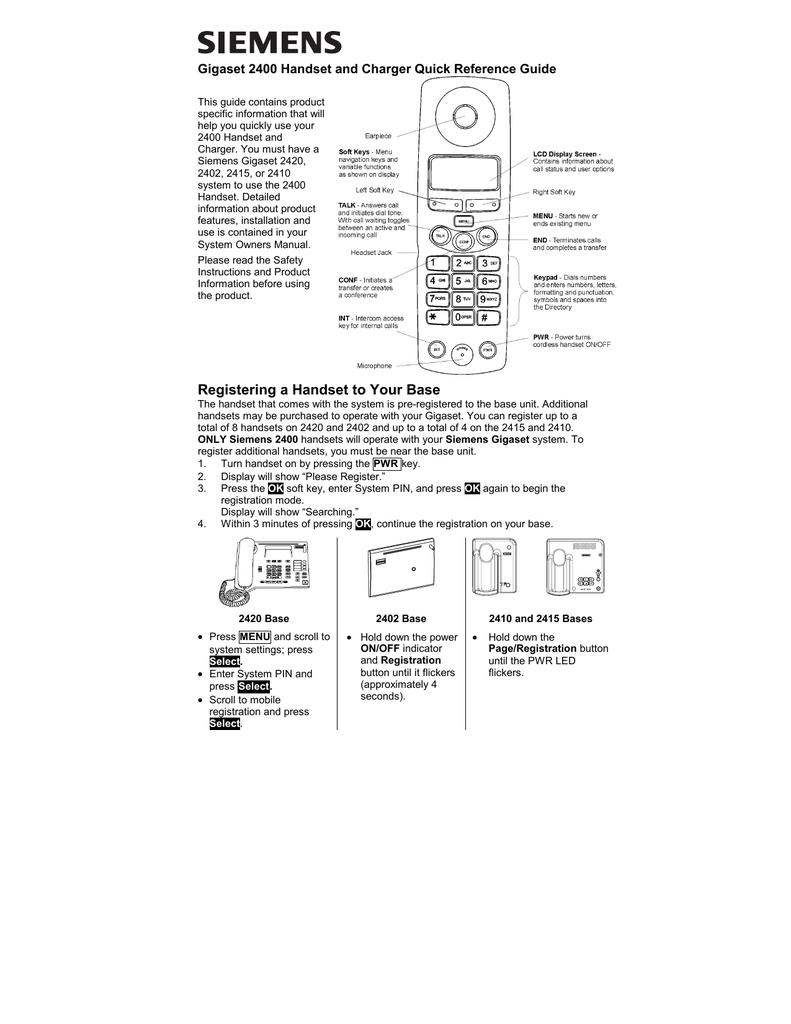 Инструкция По Эксплуатации Телефона Simens Gigaset S 645