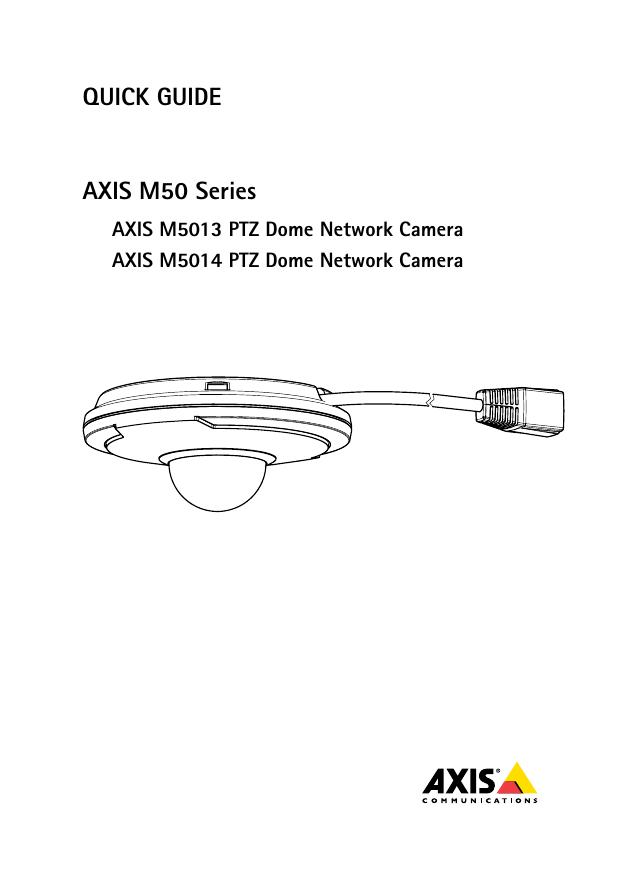 AXIS M5014-V NETWORK CAMERA 64BIT DRIVER DOWNLOAD