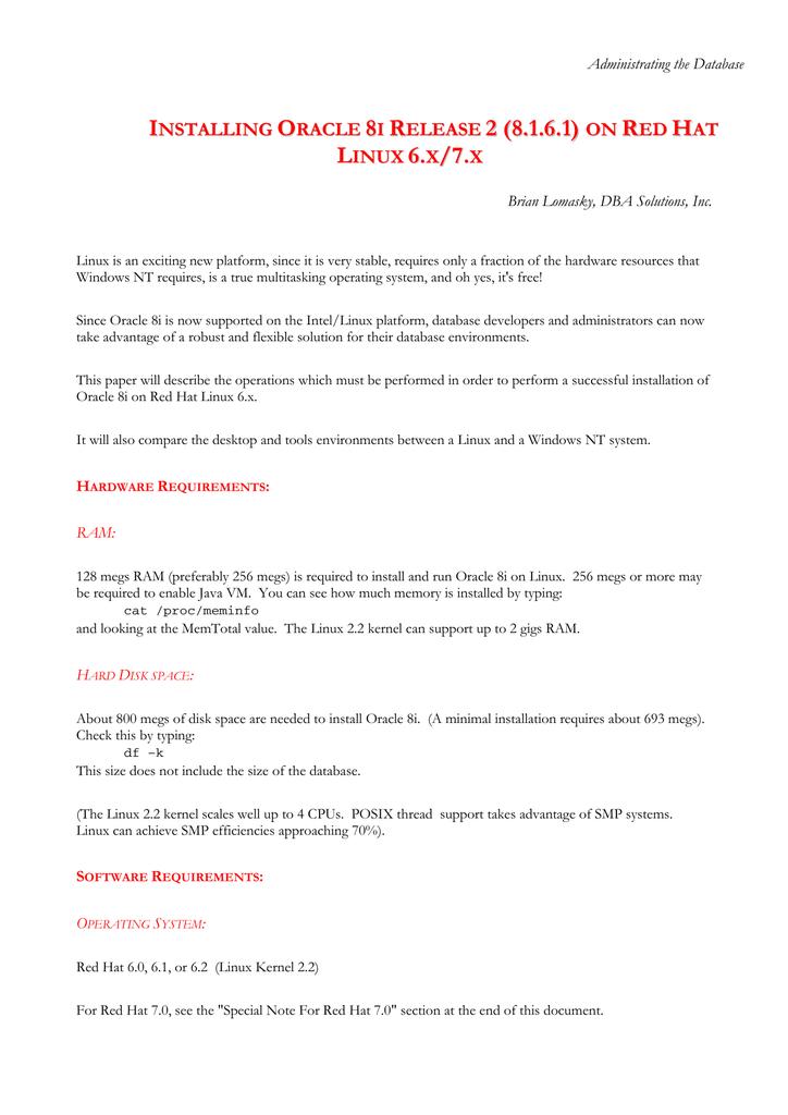 Red Hat 8 1 Installation manual | manualzz com