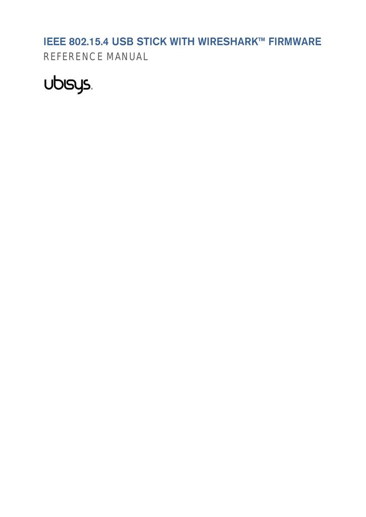 IEEE 802 15 4 Wireshark USB Stick (PDF, 26 pages, 5,3MB