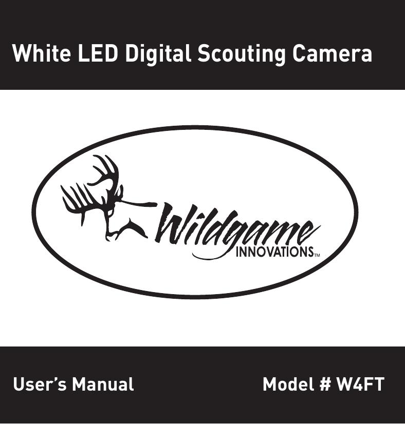 Wildgame W4ft Users Manual Manualzz