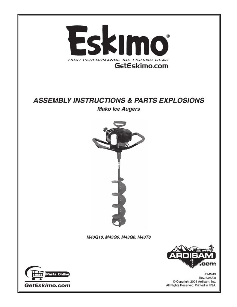 Eskimo MAKO Specifications | manualzz com