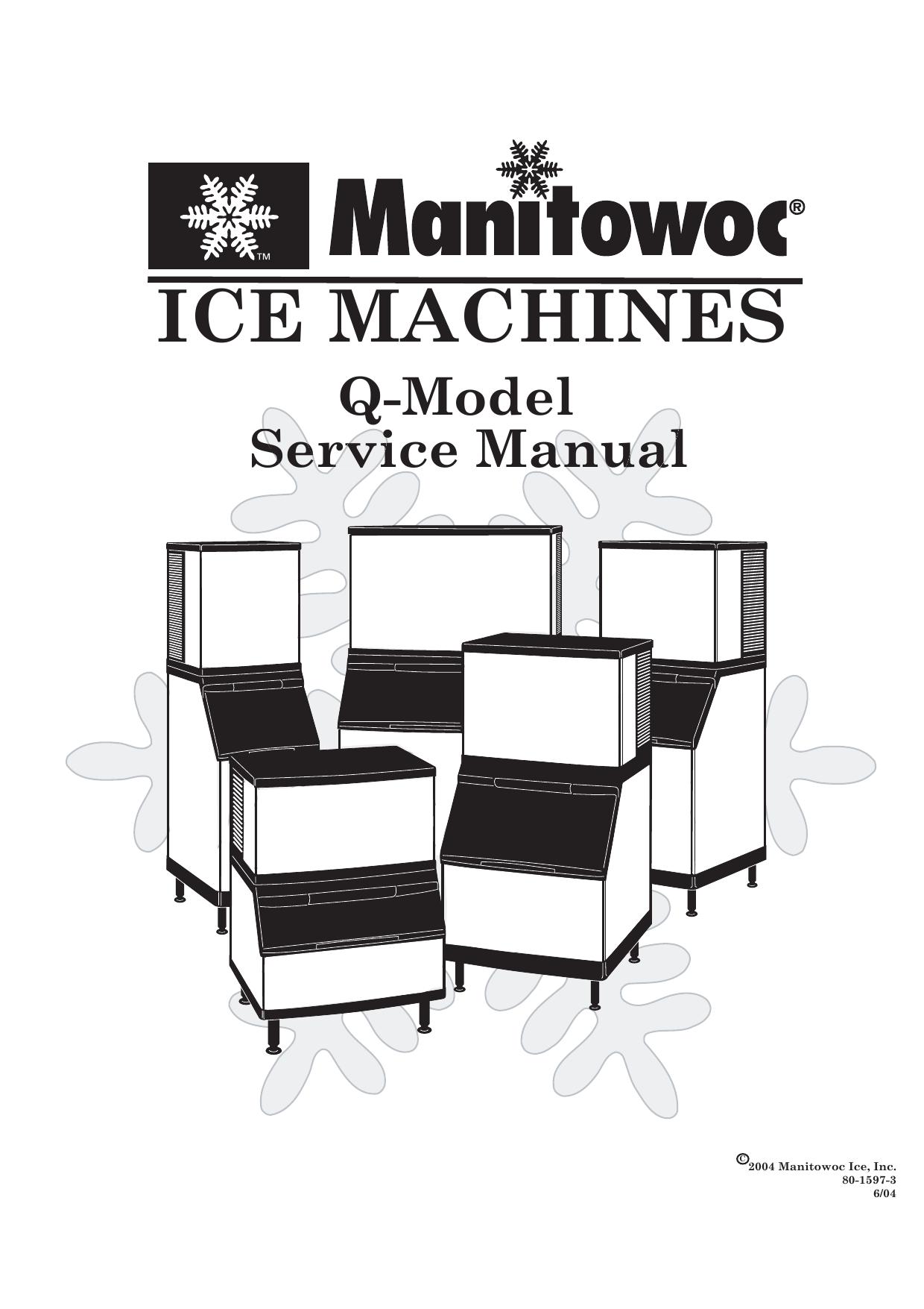 Manitowoc Q210 Service manual | manualzz.com on