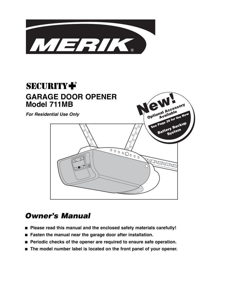 Merik 711mb Owner S Manual Manualzz Com