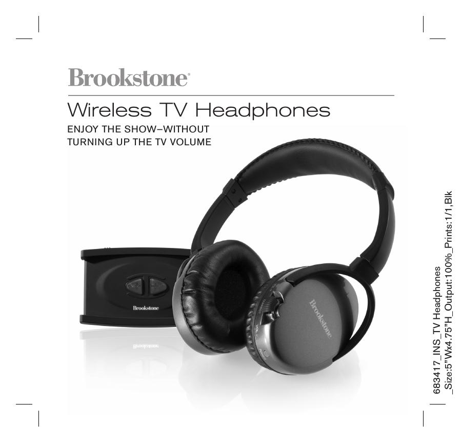 5a0cf830682 Brookstone 683417 Headphones User Manual   manualzz.com
