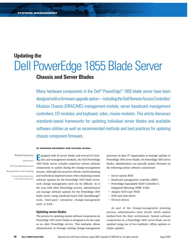 Dell 1855 Server User Manual | manualzz com