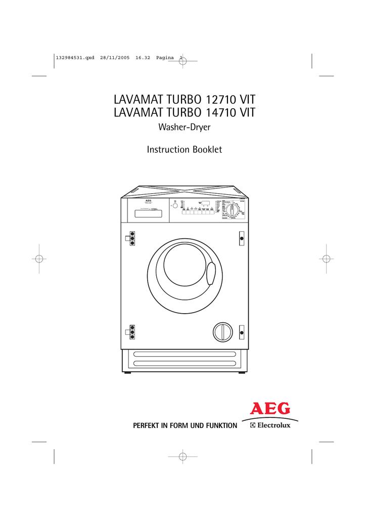 electrolux 12710 vit 14710 vit washer dryer user manual manualzz com rh manualzz com electrolux washer dryer combo eww1273 user manual electrolux washer dryer user guide