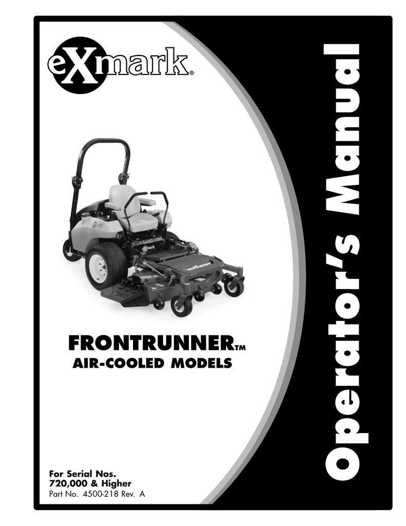 Exmark 565 Lawn Mower User Manual   manualzz com