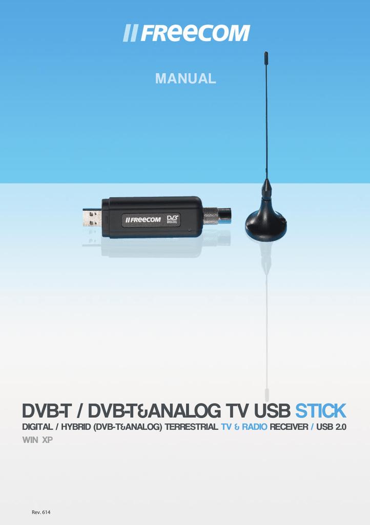 NEW DRIVER: FREECOM DVB-T