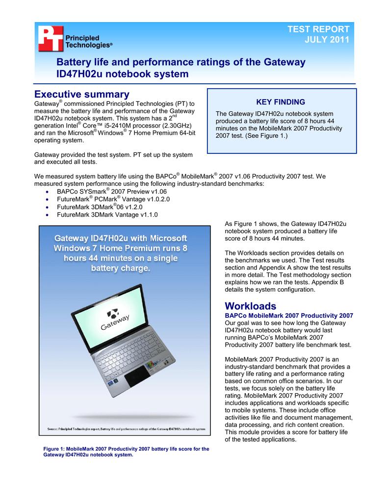 Gateway ID47H02U Laptop User Manual | manualzz com
