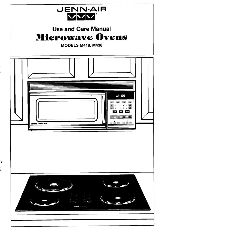 Jenn Air Microwave Oven Combo Manual  U2013 Bestmicrowave