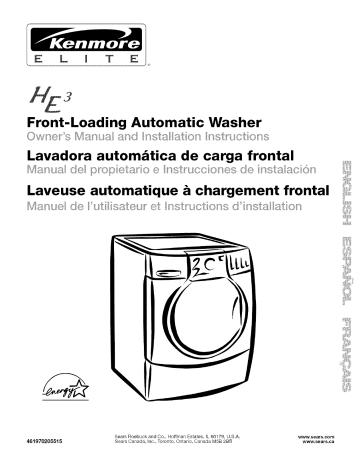 Kenmore 110 Washer User Manual Manualzz, Wiring Diagram For Kenmore Elite He3 Dryer