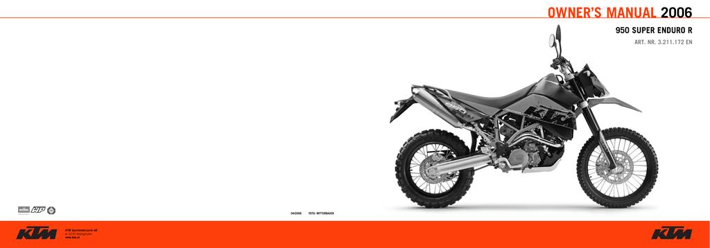 640 Duke 990 Superduke pre 2006 950 Supermoto Left Hand Motorcycle Mirror